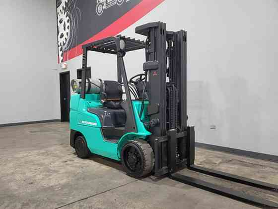 2014 Used MITSUBISHI FGC30N Forklift Cary, Illinois