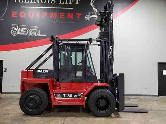 2004 Used TAYLOR T180S Forklift Cary, Illinois