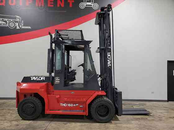 2007 Used TAYLOR THD160 Forklift Cary, Illinois
