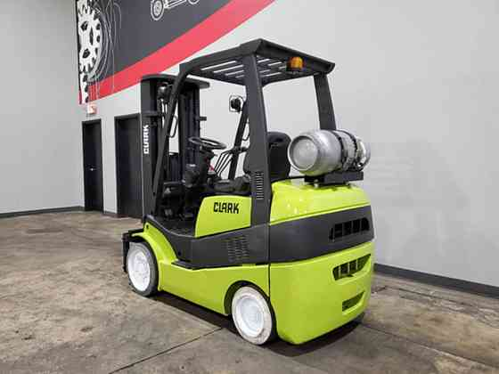 2012 Used CLARK C25CL Forklift Cary, Illinois
