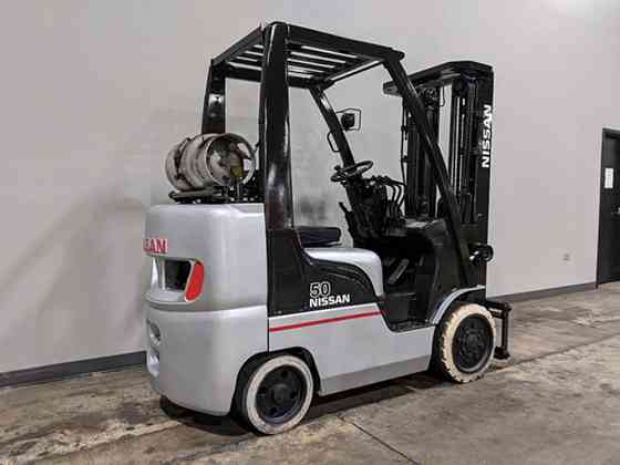 2007 Used NISSAN CF50 Forklift Cary, Illinois