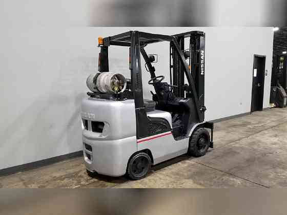 2013 Used NISSAN CF60 Forklift Cary, Illinois