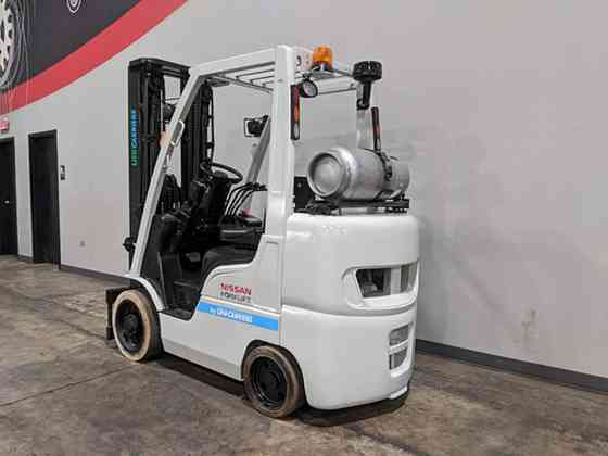 2014 Used NISSAN CF55 Forklift Cary, Illinois