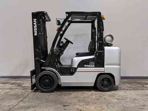 2013 Used NISSAN CF80 Forklift Cary, Illinois