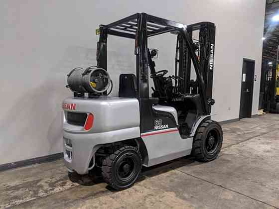2011 Used NISSAN PF60 Forklift Cary, Illinois