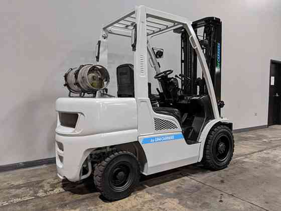2016 Used NISSAN PF60 Forklift Cary, Illinois