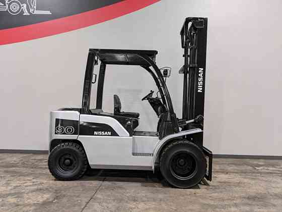 2009 Used NISSAN PD90 Forklift Cary, Illinois