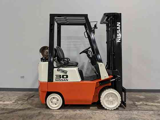 2000 Used NISSAN JC15 Forklift Cary, Illinois