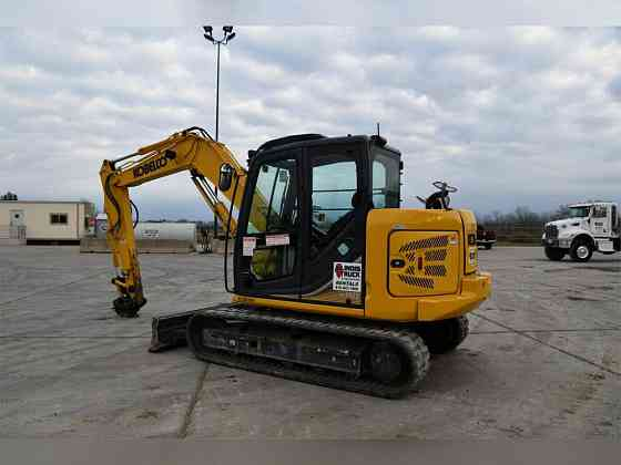2018 Used KOBELCO SK85CS Excavator Chicago