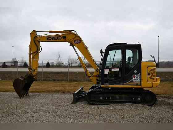 2017 Used KOBELCO SK85CS-3E Excavator Chicago