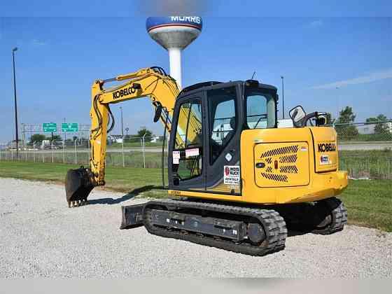 2018 Used KOBELCO SK85CS-3E Excavator Chicago