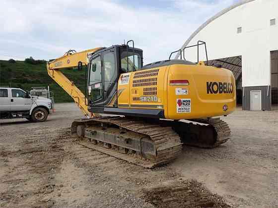 2015 Used KOBELCO SK210 LC-9 Excavator Chicago