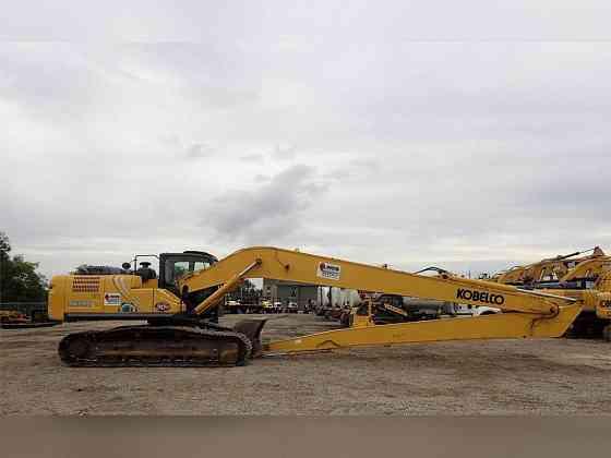 2016 Used KOBELCO SK260 LC-9 Excavator Chicago