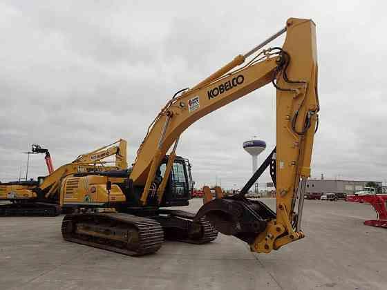 2017 Used KOBELCO SK350 LC-10 Excavator Chicago
