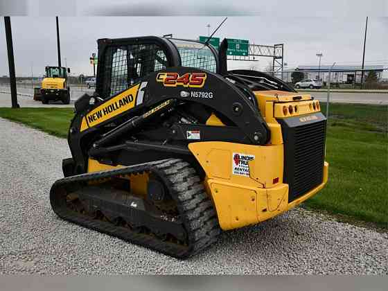 2019 Used NEW HOLLAND C245 Skid Steer Chicago