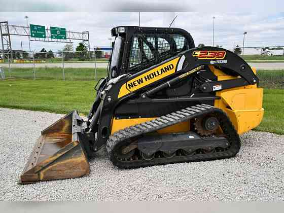 2018 Used NEW HOLLAND C238 Skid Steer Chicago