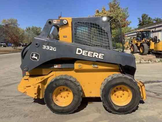 2018 Used John Deere 332G Skid Steer Lisle