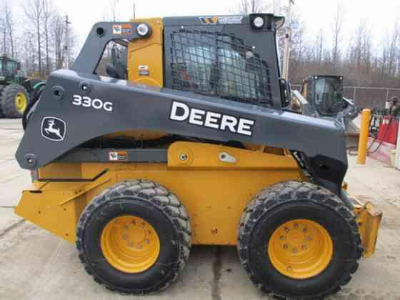 2018 Used John Deere 330G Skid Steer Lisle