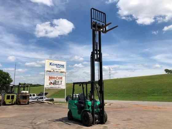 2010 Used MITSUBISHI FG25N Forklift Duncan