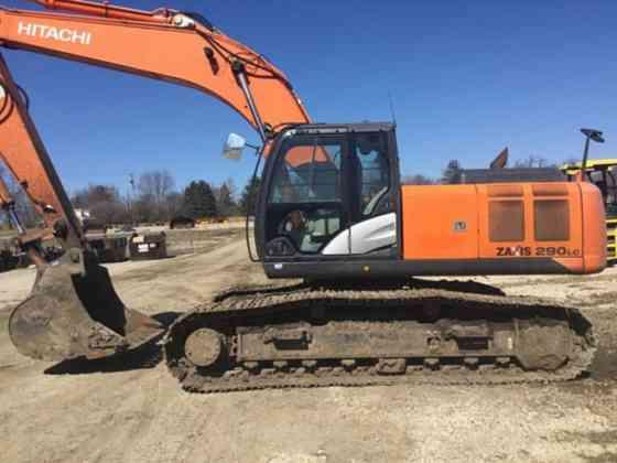 2013 Used Hitachi ZX290LC-5 Excavator Lisle