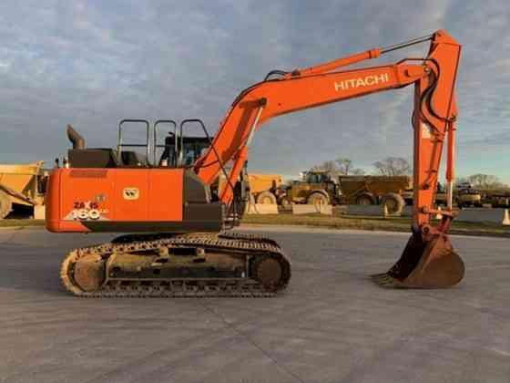 2015 Used Hitachi ZX160LC-6 Excavator Lisle