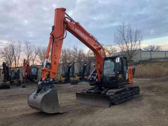 2017 Used Hitachi ZX135US-6 Excavator Lisle