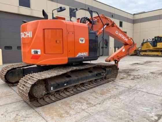 2017 Used Hitachi ZX245USLC-6 Excavator Lisle