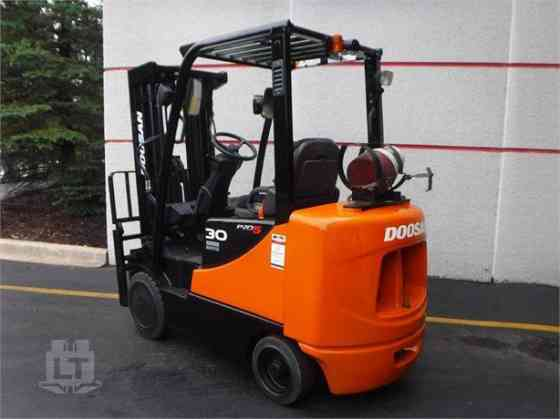 2011 Used DOOSAN GC30P-5 Forklift Indianapolis