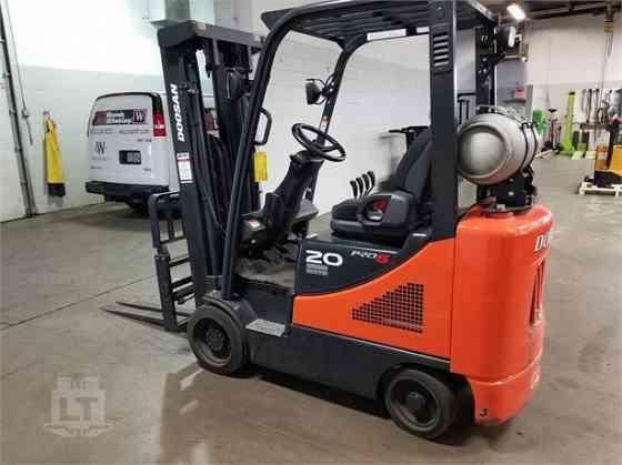 2018 Used DOOSAN GC20SC-5 Forklift Indianapolis