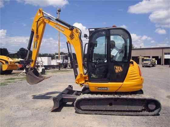 2012 Used JCB 8055 RTS Excavator Little Rock