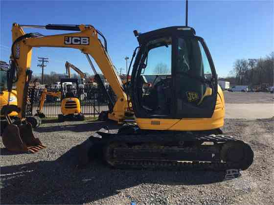 2012 Used JCB 8085 ZTS Excavator Little Rock