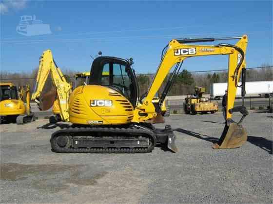 2013 Used JCB 8085 ZTS Excavator Little Rock