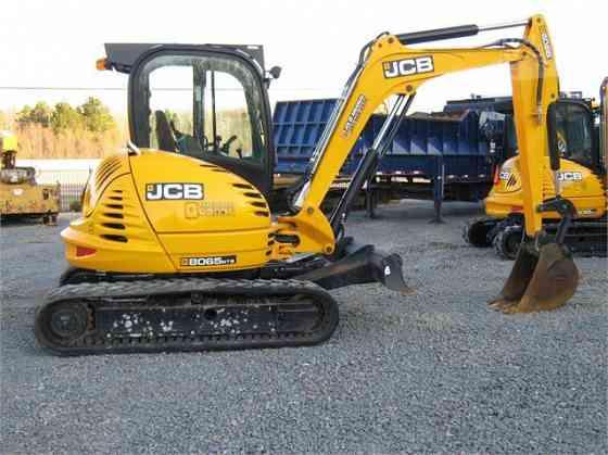 2012 Used JCB 8065 RTS Excavator Little Rock