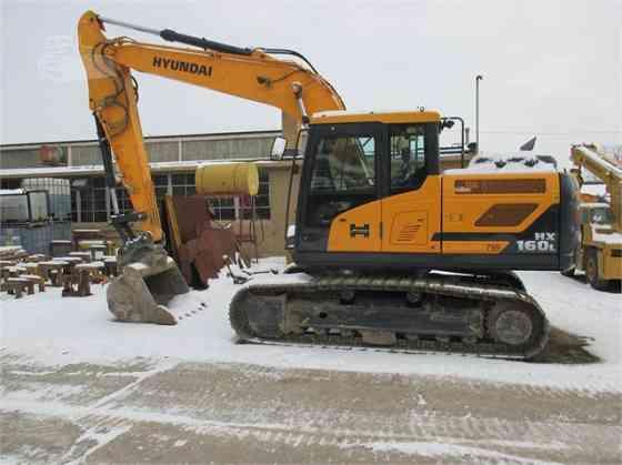 2017 Used HYUNDAI HX160L Excavator Lowell
