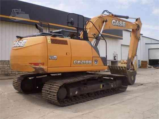 2015 Used CASE CX210D Excavator West Fargo