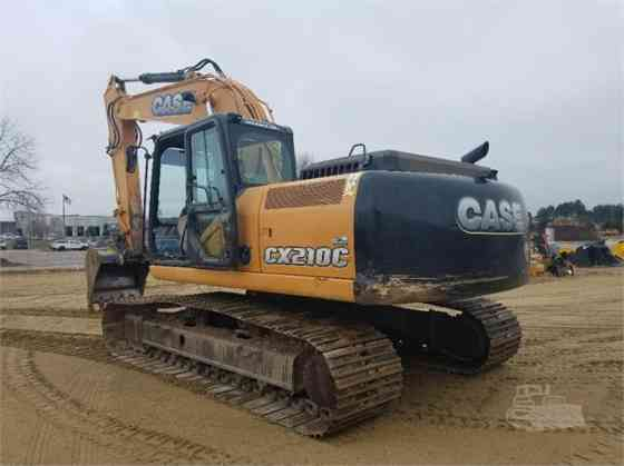 2013 Used CASE CX210C Excavator West Fargo