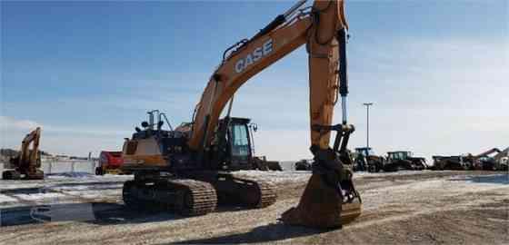 2018 Used CASE CX350D Excavator West Fargo