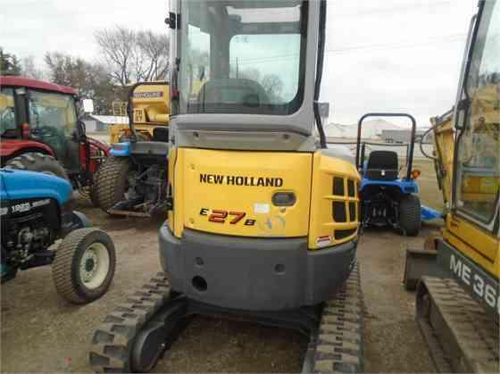 2009 Used NEW HOLLAND E27B Excavator Cedar Rapids