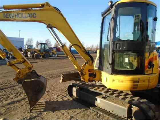 2005 Used NEW HOLLAND EH50B Excavator Cedar Rapids