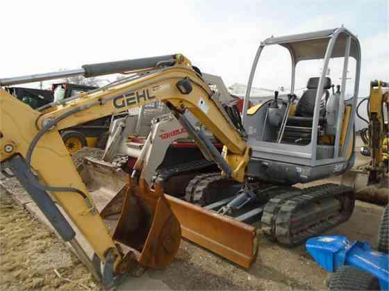 2006 Used GEHL GE303 Excavator Cedar Rapids