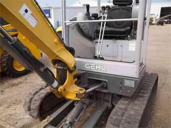 2009 Used GEHL 283Z Excavator Cedar Rapids