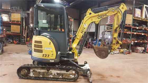 2013 Used GEHL Z27 Excavator Sioux City