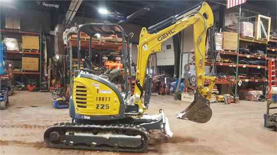 2015 Used GEHL Z25 Excavator Sioux City