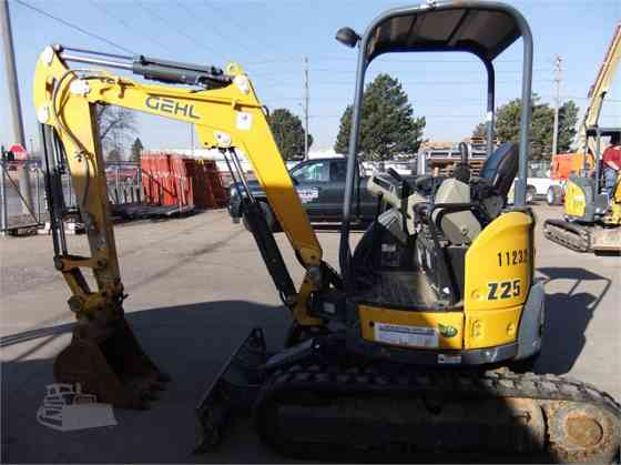 2016 Used GEHL Z25 Excavator Sioux City
