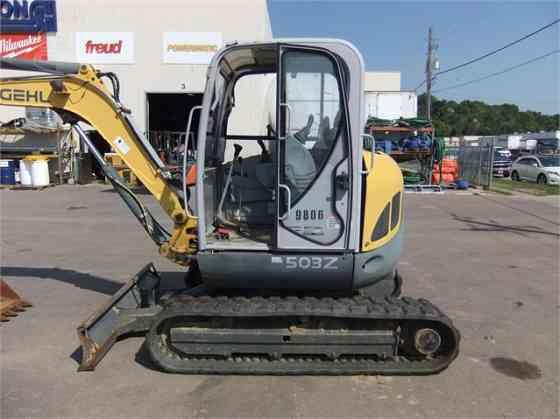 2007 Used GEHL GE503Z Excavator Sioux City