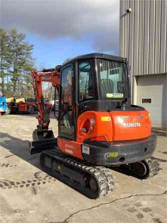 2019 Used KUBOTA KX040-4 Excavator Concord, New Hampshire