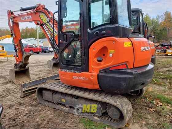 2020 Used KUBOTA KX040-4 Excavator Concord, New Hampshire