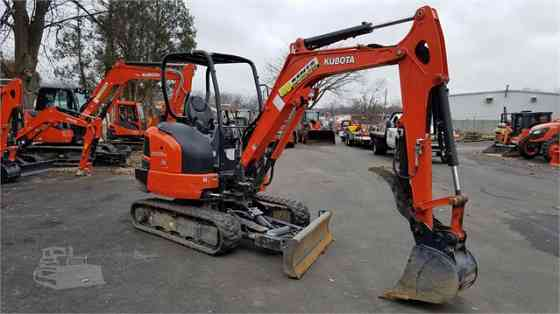 2017 Used KUBOTA KX033-4 Excavator Concord, New Hampshire