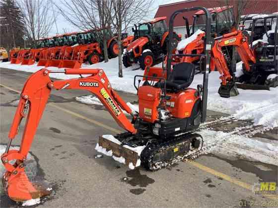 2019 Used KUBOTA K008 Excavator Concord, New Hampshire