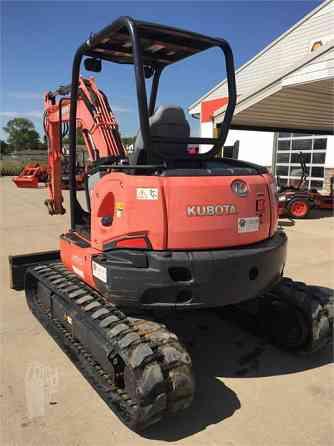 2012 Used KUBOTA U55 Excavator Des Moines, Iowa